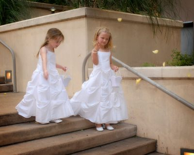 flower girl austin wedding photography