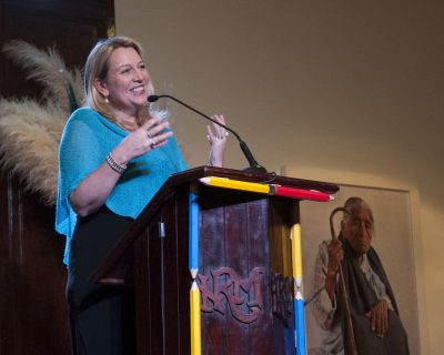 Carol Strahan photo at the San Miguel Writers conference