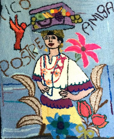 The rug hook project Tour San Miguel de Allende rugs