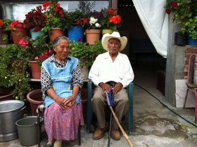 elders on the rancho tour in Agustin Gonzales rancho tour
