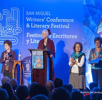 photo of Susan Page at the san miguel writers conference