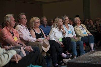 San Miguel Writers conference audience photography